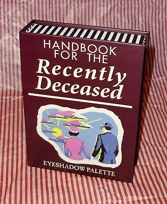 NEW Beetlejuice Handbook For The Recently Deceased Eyeshadow Palette Hot Topic
