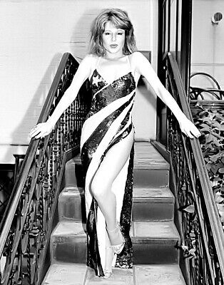 1980-1989 PIA ZADORA b/w glamour classic photo (Celebrities)