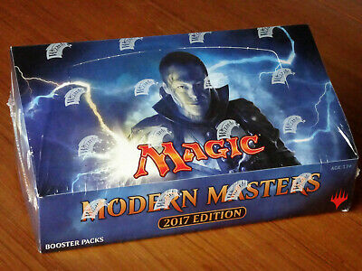 MTG MODERN MASTERS 2017 EDITION BOOSTER BOX New Factory Seal Magic The Gathering