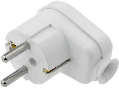 WT-16U/S/WH Connector AC supply plug white 16A 230VAC PIN3 angled 90°