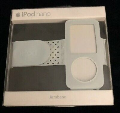 IPOD NANO 4TH GENERATION ARMBAND Black With Gray-NEW IN BOX