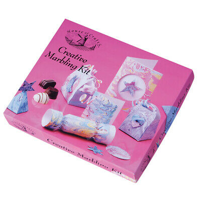 House of Crafts Creative Marbling Kit