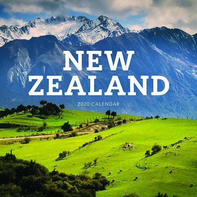 2020 New Zealand Square Wall Calendar by Paper Pocket 17112