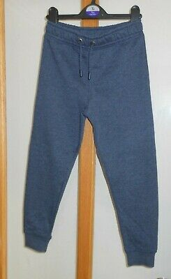 TU - Dark Blue Joggers School PE Elasticated Waist - Size 7 Years