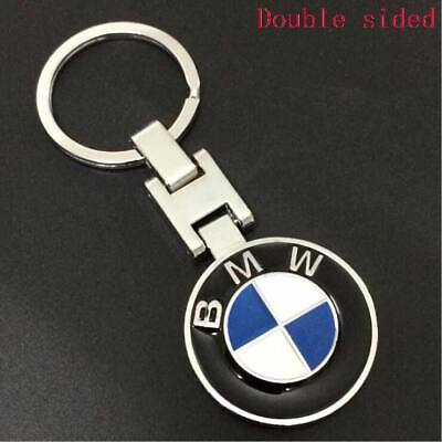 Metal Car double side Logo keyring key chain pendant Key Holder for BMW