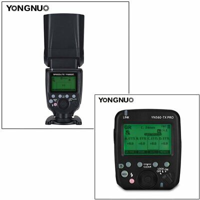 YONGNUO YN560-TX PRO Wireless Flash Transmitter with YN862C Speedlite for Canon