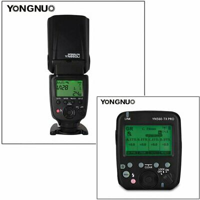 YONGNUO YN560-TX PRO Wireless Flash Transmitter with YN860Li Speedlite for Canon