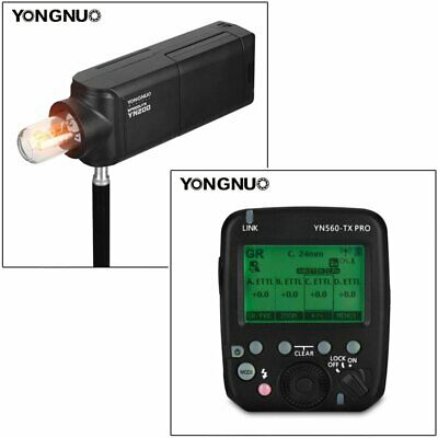 YONGNUO YN560-TX PRO Wireless Flash Transmitter with YN200 Speedlite for Canon
