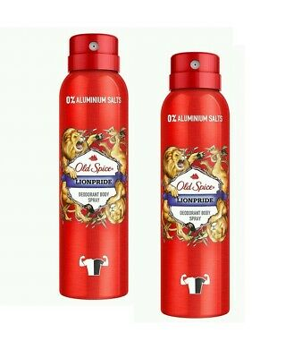Old Spice Aerosol Bodyspray Lionpride 150 ml 2er-Pack