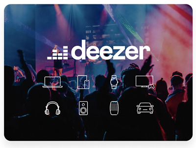💥 Deezer premium for 12 months ( 💯 personal account Not Shared) worldwide☑