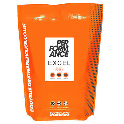 Excel Bcaa Poudre - 30 Portions (342g) - Bcaa, Citrulline Malate & Glutamine
