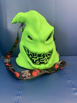 Disney Nightmare Before Christmas Oogie Boogie Popcorn Bucket Light-Up Head NEW