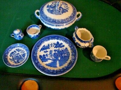 Blue Willow China- Different Names on China but Same Overall Pattern-Misc Pieces