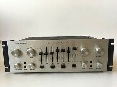 SAE Mark 1B Stereo Preamp Equalizer Works Well