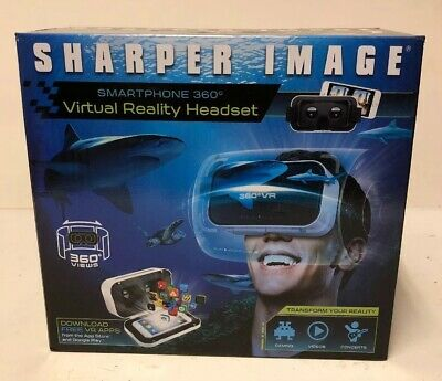 Sharper Images Smartphone 360 Virtual Reality Headset