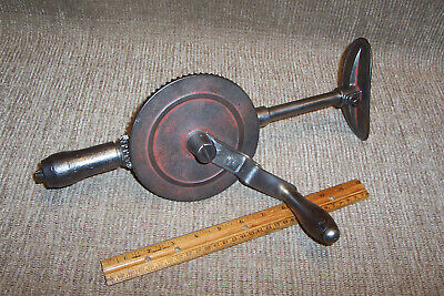 Old Millers Falls? No.13? Breast Drill Antique Carpenter Woodworking Tool