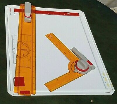 Koh-I-Koor rapidograph 25233 Drawing Board A3 with KOH-I-NOOR Protractor in Box