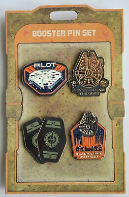 Disney Parks Star Wars Galaxy's Edge Booster Pack Set of 4 Millennium Falcon NEW