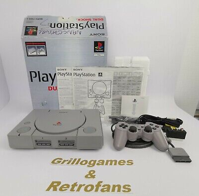 Sony Playstation 1 Konsole in Ovp | Ps1 | * Super Zustand