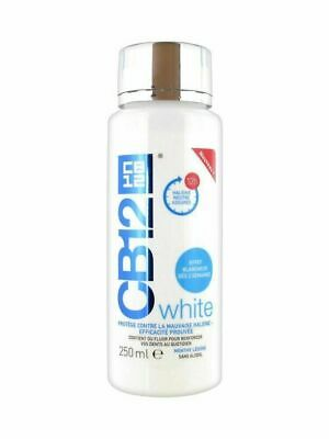 3 x CB12 White Mouthwash 250ml Whitening Effect | UK PHARMACY STOCK