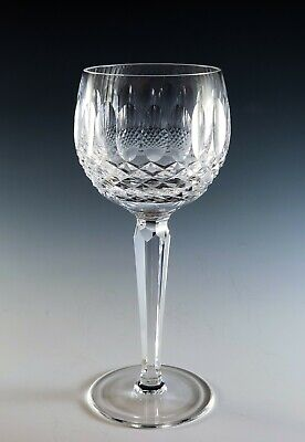Waterford Crystal COLLEEN Short Stem WINE HOCK(s) Excellent Condition!