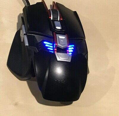 BLACKWEB RGB GAMING Mouse BWA17HO003 Programmable, 400