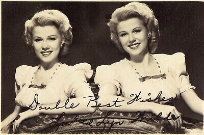 VINTAGE 1940'S PHOTO of Hollywood Movie Actress LUCILLE BALL