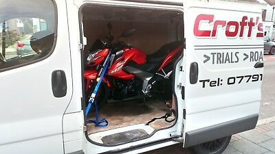 West Yorkshire - Motorbike Delivery motorcycle transport motorbike courier