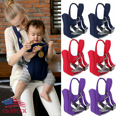 Newborn Infant Adjustable Comfort Baby Carrier Sling Rider Backpack Wrap Strap