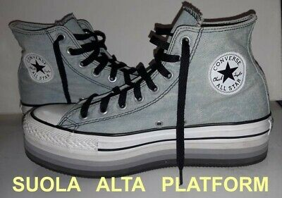 best loved ca7b2 20329 CONVERSE ALL STAR a suola alta PLATFORM n.41 - Donna