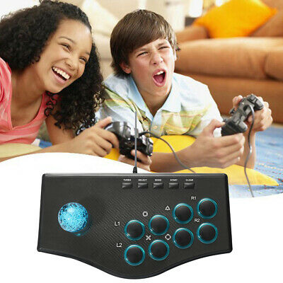 For PS3 PS2 USB / P2 Arcade Fight Stick Fighting Game Street Fighter Controller