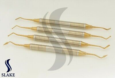 Dental Light Weight Titanium Coated Restorative Composite Filling Instrument CE