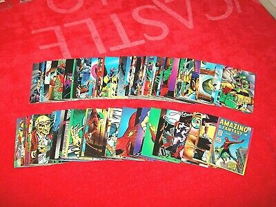 1992 Marvel Spider-Man 2 30Th Anniversary Set Complete 1-90 (18-47)