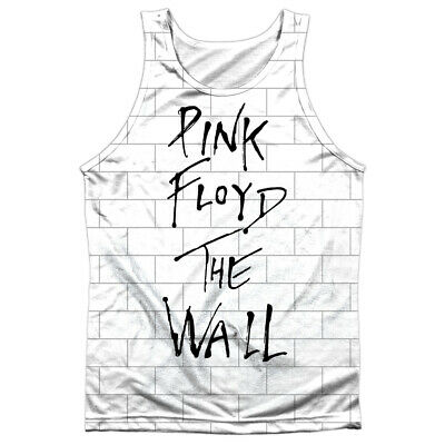 Pink Floyd The Wall Cover Album Anteriore solo Sublimata Big Stampa Poly Canotta