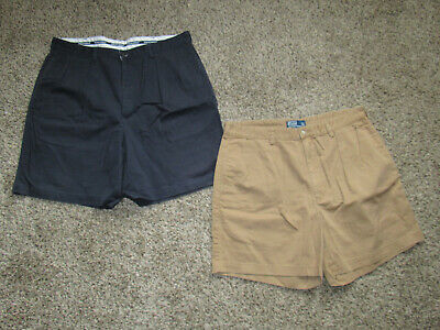 Shorts Clothing, Shoes & Accessories Polo Ralph Lauren The Andrew Short Shorts Mens Sz 35 Navy Blue Casual Cotton NWT