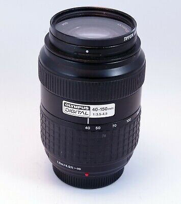 Olympus Zuiko 40-150mm f/3.5-4.5 Lens with Four Thirds Mount