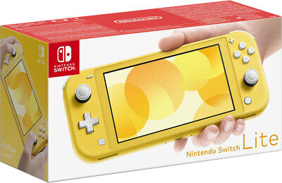 Nintendo Switch Lite Gialla Console Portatile Colore Yellow Limited Edition Pal