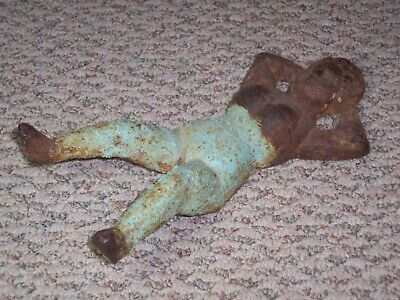 Vintage Naughty Nellie Cast Iron Boot Jack