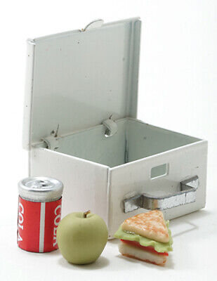 Miniature Lunch box with Thermos #HB042-1//12th Scale