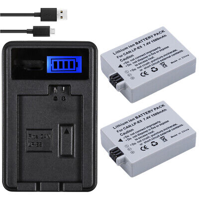Finest Camera Battery Charger for Canon LP-E5 EOS 450D 500D 1000D KISS F R7J2Y