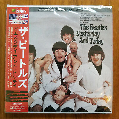 Beatles ‎- Yesterday And Today. Butcher cover. NEW sealed Mini-LP CD