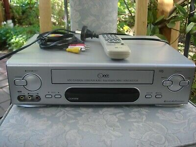 LG CC970TW VCR with remote
