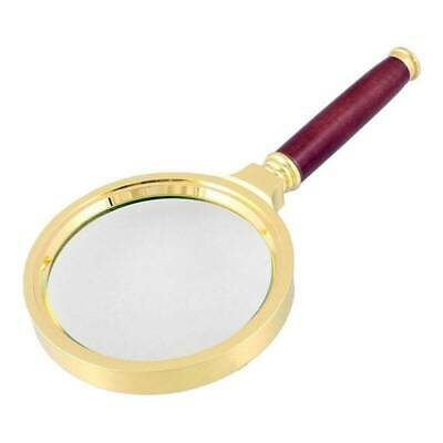 90mm Handheld 10X Magnifier Magnifying Glass Loupe Reading Jeweler Jewelry Tips