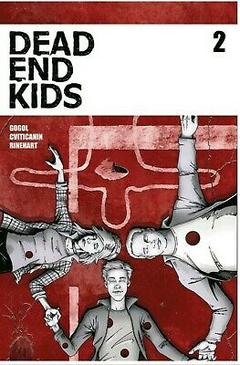 🔥DEAD END KIDS #2 1st Print Sold Out Source Point Press NM+ 2019 Frank Gogol🔥