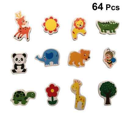 Funny Cartoon Animal Cute Fridge Magnet Sticker Refrigerator Home Decoration