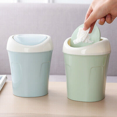 Mini Small Waste Bin For Desktop Garbage Basket Table Home Office Trash Can Jhus
