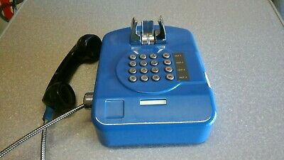 Wall Mountable Vintage Blue Classic Payphone