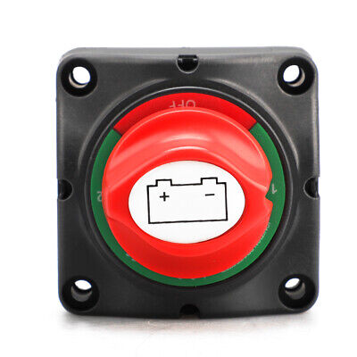 300A Dual Battery Selector Switch Disconnect Power Kill Cut Off for Marine Boat