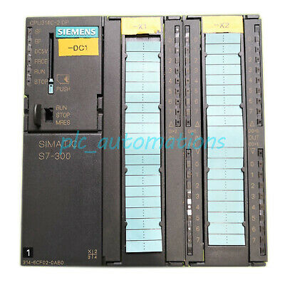 Used Siemens 6ES7 314-6CF02-0AB0 CPU Module 6ES73146CF020AB0 Tested Good