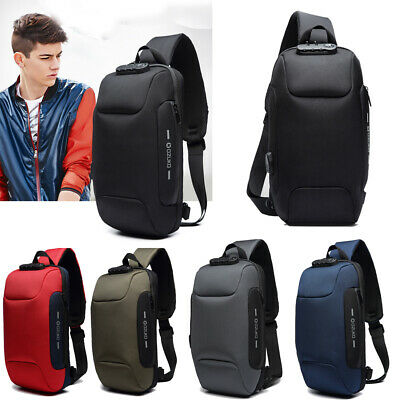 Anti-theft Shoulder Bags Waterproof Backpack With 3-Digit Lock for Phone